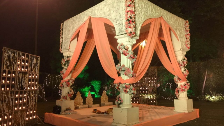 EventFAQs – Lovely Delhi Wedding with a 'Rajnigandha Fusion' Theme