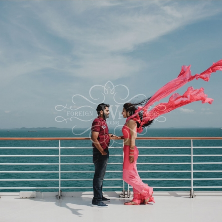 Akshat & Devika Wedding – Dream Cruise, Singapore