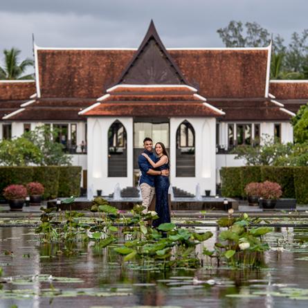 Sonam and Mikesh, Phuket, Thailand